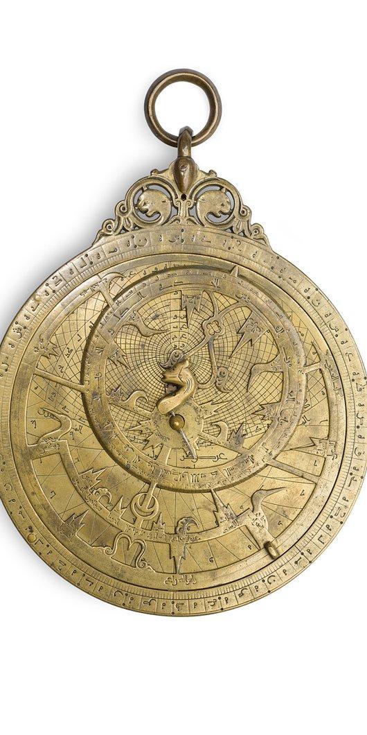 Golden astrolabe