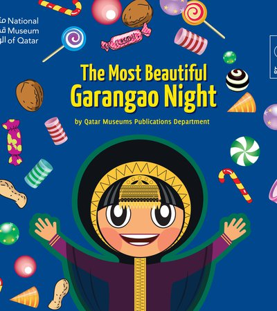 Book cover of The Most Beautiful Garangao Night by Qatar Museums